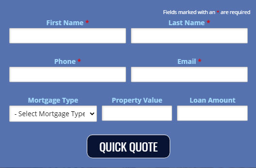 Quick Quote at Calimortgage